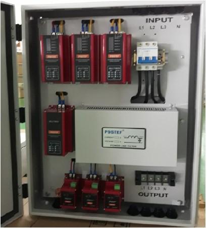 Giải pháp chống sét lan truyền trên đường điện lực 3pha LPS34-63/200kA (Lightning Protection Systems), LPS 34-63/200kA, Postef
